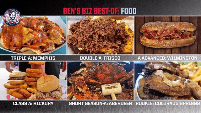 Ben's Best: Minors most memorable cuisine